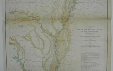 Map of the Alluvial Region of the Mississippi