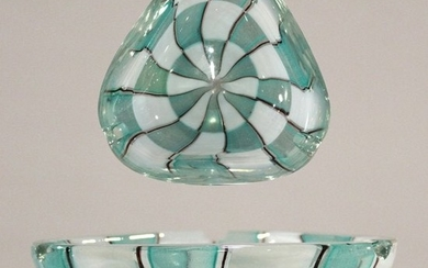 Mid-Century Modern Murano Art Glass Ashtray