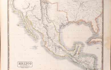 """Price lowered by $50, """"New Edinburg General Atlas. Exhibiting the Relative Extent & Divisions the Boundaries and Other Geographical Details of the Various Empires, States & Quarters of the World..."""", Lothian, John"""