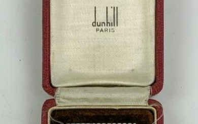 Old Dunhill Paris Sterling Silver Flint Lighter