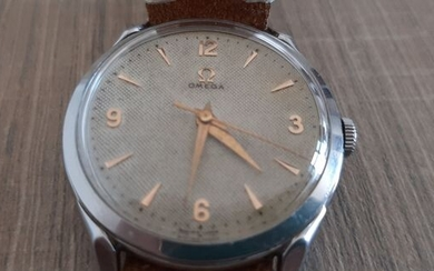 "Omega - Cal. 283 Honeycomb dial - ""NO RESERVE PRICE"" - 2605-3 - Men - 1950-1959"