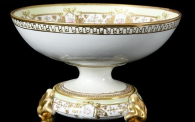 Pedestal Bowl, Two Part, Marked Nippon