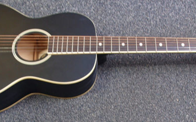 Recording King - Dirty 30's Solid Top Harmonella Single 0 Parlour - Steel-stringed guitar