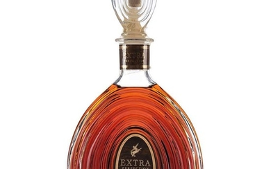 Rémy Martin. Extra perfection. Cognac. France. Crystal decanter with stopper.