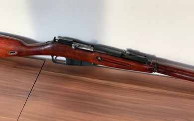 Russia - Tula - WW2 Mosin Nagant 31/30 - Single Action (SA) - Centerfire - Rifle - 7.62x54mmR cal