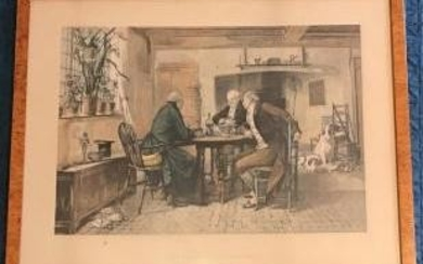 The First of September Print by W D Sadler