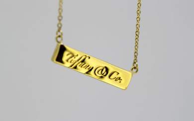 Tiffany & Co - 18 kt. Yellow gold - Necklace with pendant