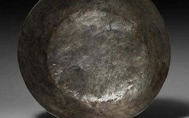 Viking Stamp Decorated Silver Bowl