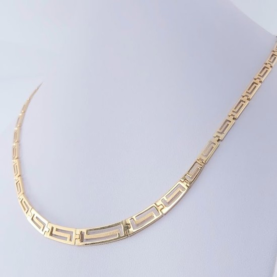 Yellow gold - Necklace