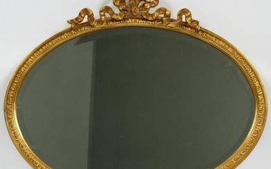 """CARVERS' GUILD FRENCH STYLE MIRROR, H 24"""", W 27"""""""