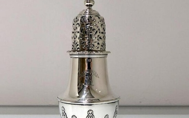 19th Century Antique Victorian Sterling Silver Sugar