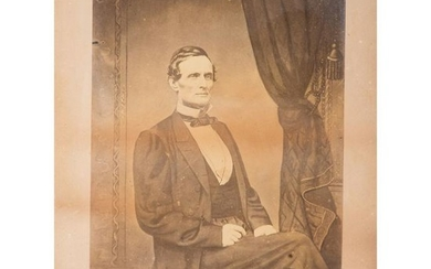 Jefferson Davis War-Date Albumen Photograph with