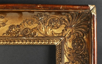 "A Charles X Gilt Composition Period Frame. 23.5"" x 29"""