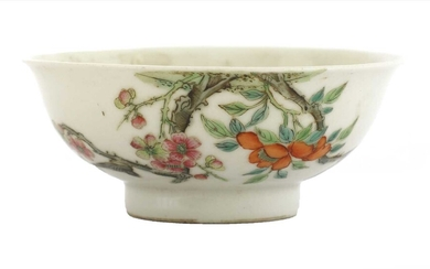 A Chinese famille rose bowl