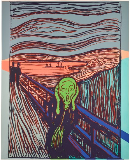 ANDY WARHOL | THE SCREAM (AFTER MUNCH) (SEE F. & S. IIIA.58)