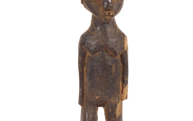 African Lobi Bateba Female Figure