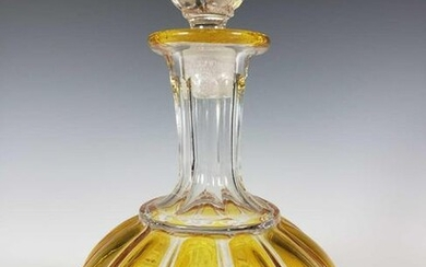 American Pattern Glass Decanter with Stopper