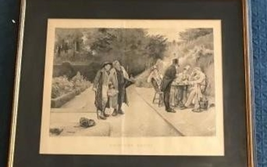 Antique Uninvited Guest Prints by WH Boucher