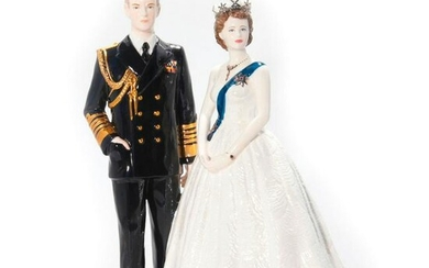COALPORT LIMITED EDITION FIGURINE, A ROYAL PORTRAIT