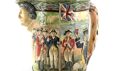 Charles Noke and H Fenton for Royal Doulton, Captain Phillip...