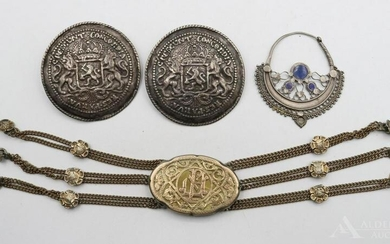 Chatelaine and Buttons
