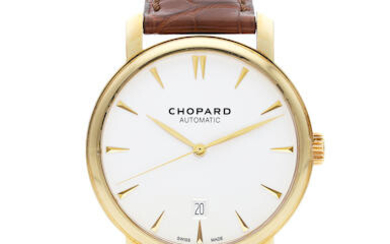 Chopard | Classique, A New Old Stock Yellow Gold Wristwatch with Date, Circa 2019
