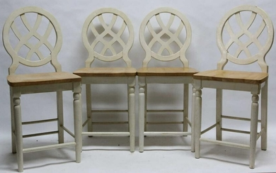 FINE BARSTOOL GROUPING OF FOUR