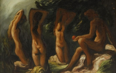 Lorser Feitelson The Judgment of Paris