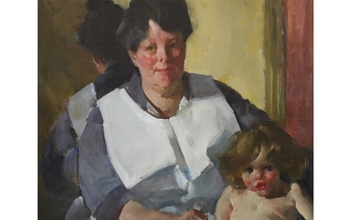 Martha Walter (American, 1875–1976) After the Bath With 'Estate...