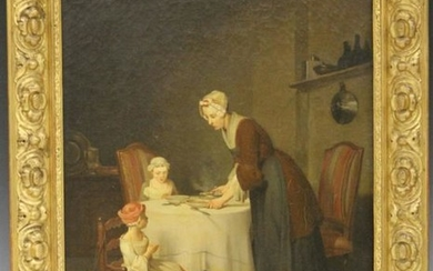 PAINTING SIGNED AFTER JEAN BAPTISTE-SIMEON CHARDIN