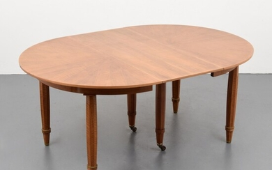 Rare Jules Leleu Extension Dining Table