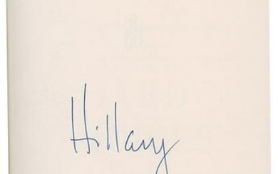 The Clintons Signed Books