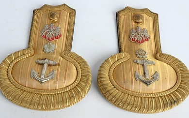 WWII JAPANESE NAVY OFFICER SHOULDER BOARDS WW2