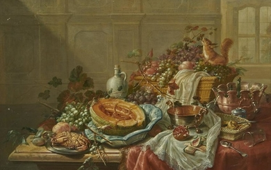 DUTCH SCHOOL , (18th century), Still Life with Fruit,