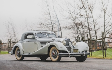 1937 Mercedes-Benz 540 K Coupe by Hebmüller