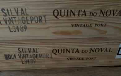 "2001 Quinta do Noval ""Silval"" Vintage Port - 12 Bottles (0.75L)"