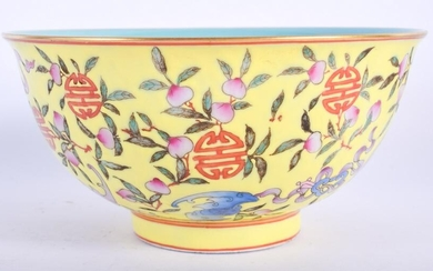 A CHINESE FAMILLE ROSE PORCELAIN BOWL 20th Century