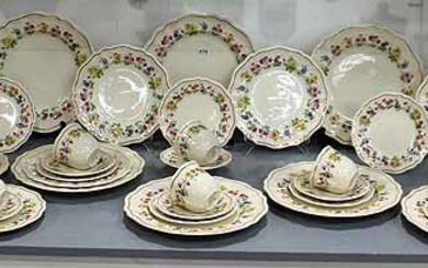 A ROYAL DOULTON DINNER SET