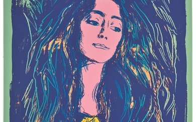 ANDY WARHOL | EVA MUDOCCI (AFTER MUNCH) (SEE F. & S. III.A.59)