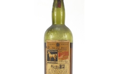 Bottle of 1944 White Horse whisky, numbered L19268