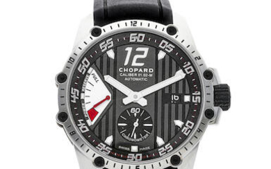 Chopard | Classic Racing, A New Old Stock Stainless Steel Wristwatch with Date and Power Reserve Indicator, Circa 2019