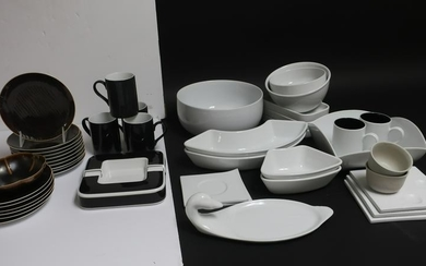 Contemporary Pottery & Porcelain Dishes