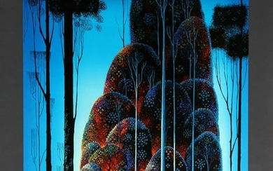 Eyvind Earle, Tall Trees, Serigraph