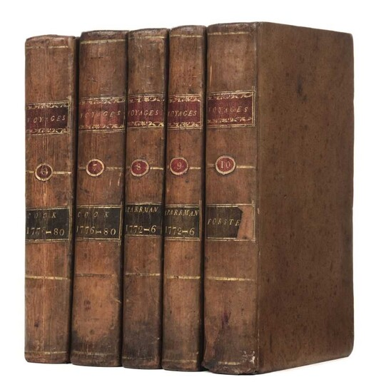 Forster (J. R.). History of the Voyages made in the North, 1786, & 2 others