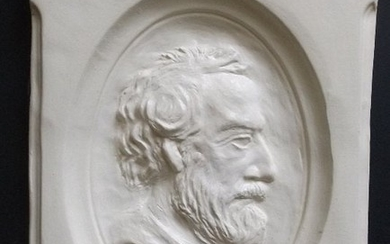 General Robert E. Lee Relief Portrait, Wall Sculpture