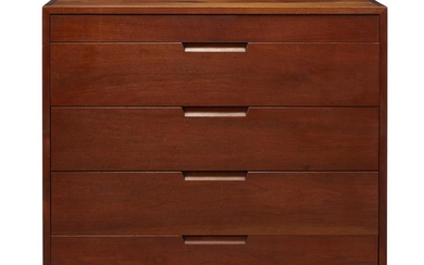George Nakashima (American, 1905-1990) A Single Chest of Drawers,...