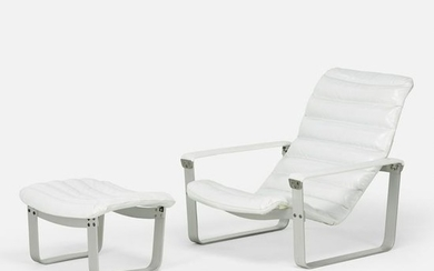 Ilmari Lappalainen, Pulkka lounge chair and ottoman
