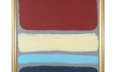 Mark Rothko , Style Of, OIL/C, Abstract in 5 colors