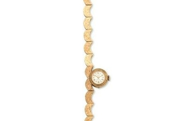 SELLITA, 14K YELLOW GOLD WRISTWATCH