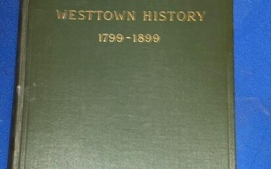 Signed Book: A Century of Westtown History